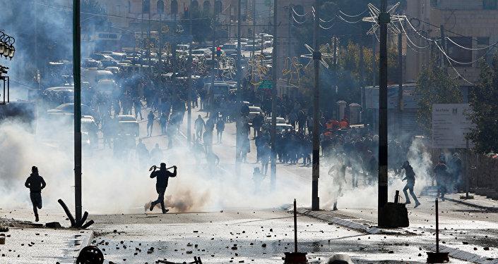 Disturbios en Belén, Cisjordania