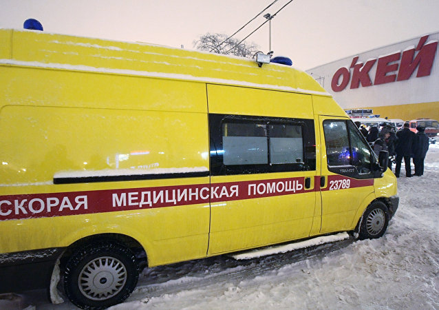 Una ambulancia de San Petersburgo, imagen ilustrativa