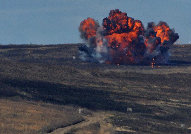 Una explosión (imagen referencial)