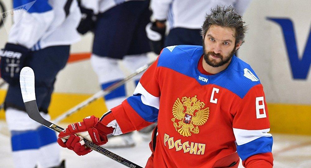 Alexandr Ovechkin, estrella rusa de la NHL