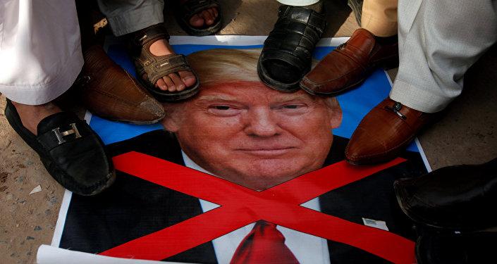 Protestas contra el presidente de EEUU, Donald Trump