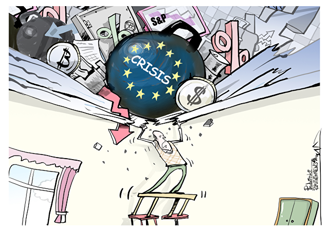 Nubes de tormenta financiera acechan al mundo