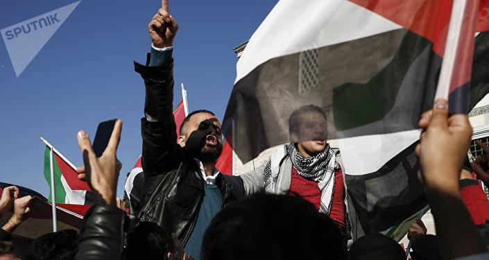Protestas en Estambul por la decisión de Donald Trump sobre Jerusalén