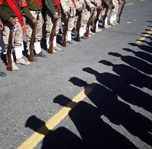 Los rebeldes hutíes en Yemen (imagen referencial)