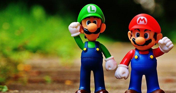 Los personajes de videojuego, Mario y Luigi