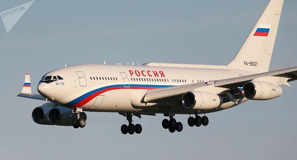 El avión del presidente de Rusia, Vladímir Putin