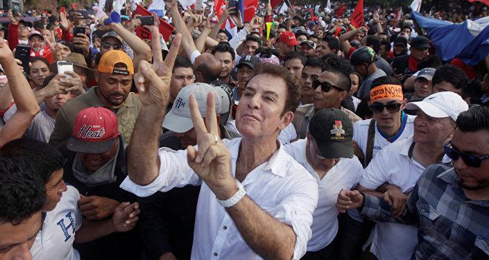 Salvador Nasralla, candidato a la presidencia de Honduras (archivo)