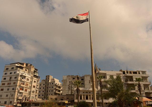 Bandera de Siria (archivo)