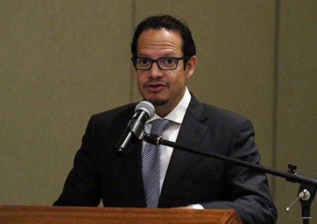 Javier Córdova, ministro de Minería de Ecuador (archivo)