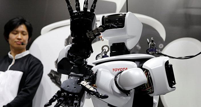 El robot humanoide de Toyota