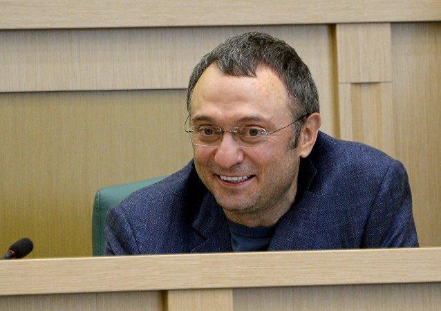 Suleimán Kerímov, el senador ruso