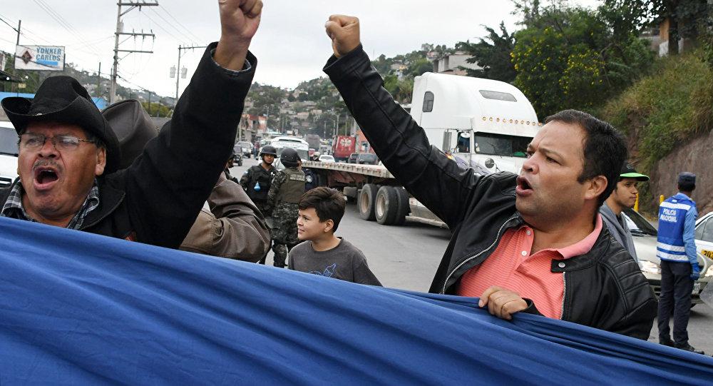 Honduras: muestran supuestas pruebas de fraude electoral en presidenciales