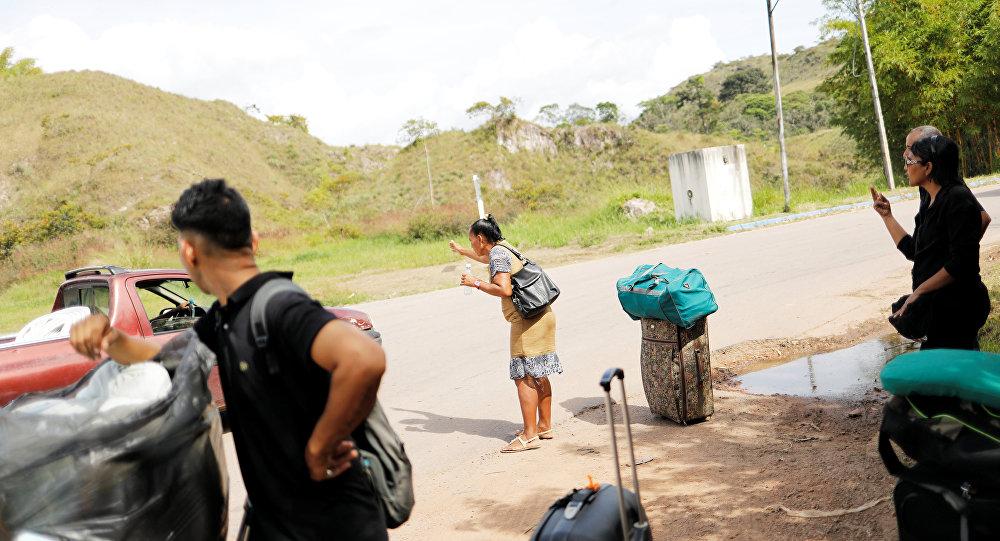 Migrantes venezolanos (imagen referencial)