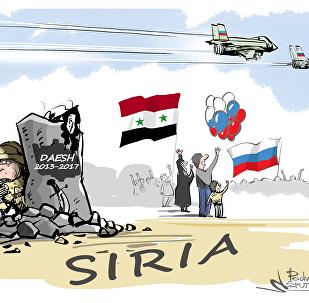 Misión cumplida: las Fuerzas Aeroespaciales rusas se despiden de Siria