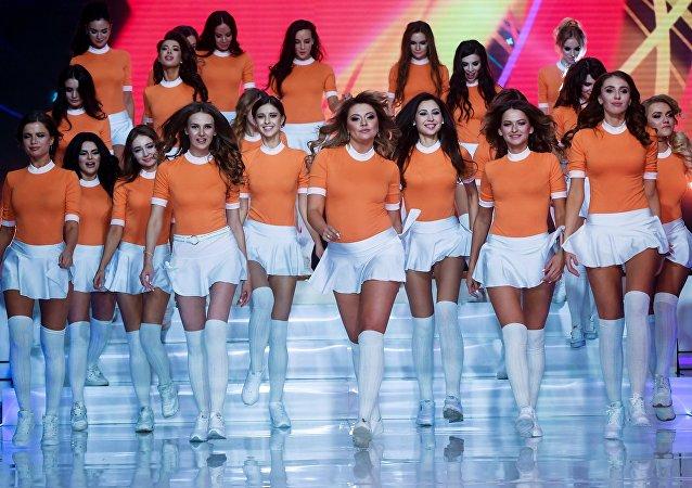 Participantes del concurso Miss Moscú 2017