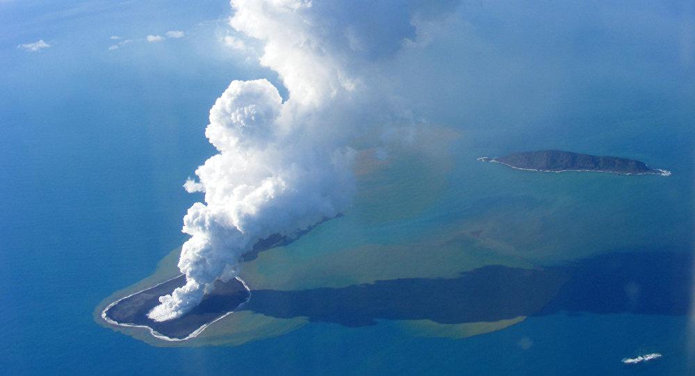 Hunga Tonga, la isla pasajera parecida a Marte — NASA