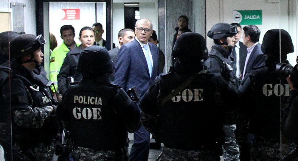 Condenan a 6 años de prisión a Jorge Glas, vicepresidente de Ecuador