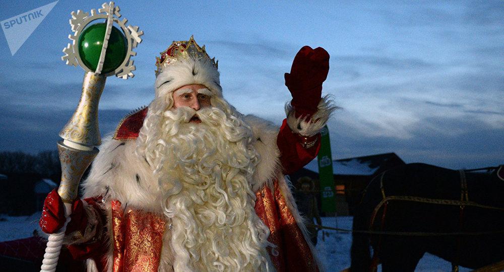 El Papá Noel de Rusia