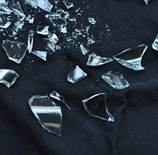 Cristal roto (imagen referencial)