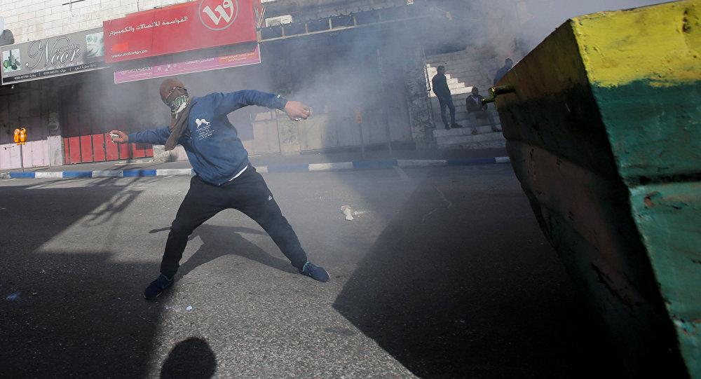 Protestas en la ciudad de Hebrón (archivo)