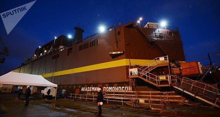 'Akadémik Lomonósov', la primera central nuclear flotante