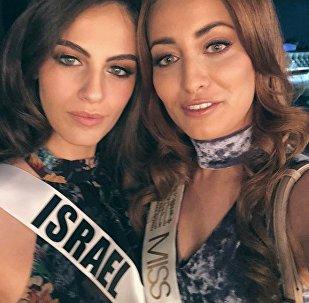 Miss Irak, Sarah Idan, y Miss Israel, Adar Gandelsman