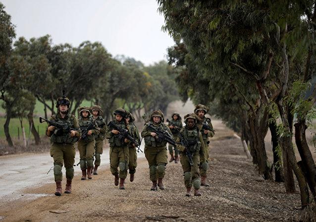 Ejército israelí en Gaza
