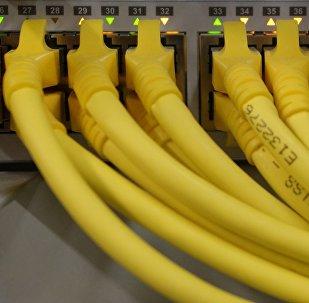 Unos cables, imagen referencial