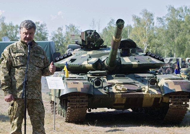 El tanque ucraniano Bulat T-64BM