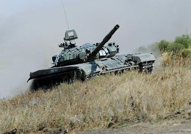 El tanque T-72 (archivo)