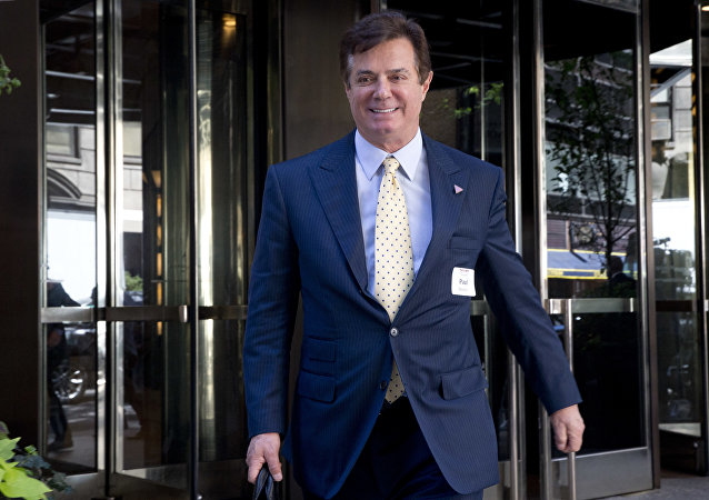 Paul Manafort, exjefe de campaña de Donald Trump
