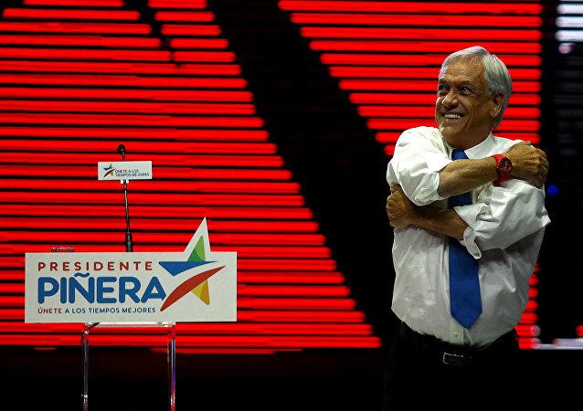 Sebastián Piñera, candidato presidencial y expresidente chileno (archivo)