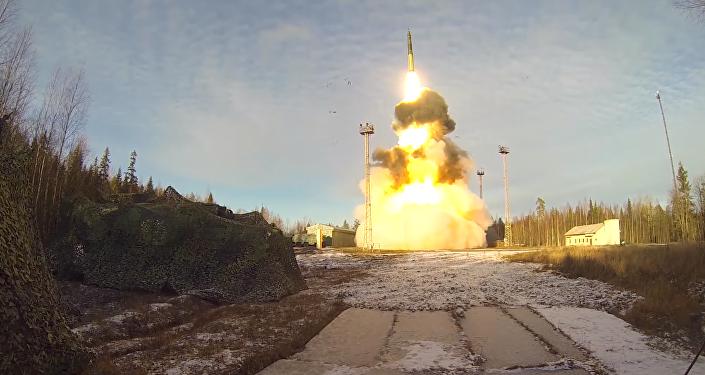 Las Fuerzas de Misiles Estratégicos de Rusia muestran toda su potencia
