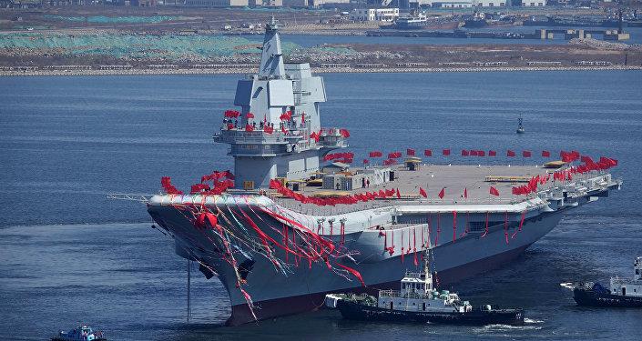 El segundo portaviones chino