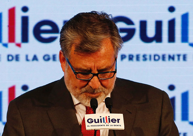 Alejandro Guillier, excandidato a la presidencia de Chile