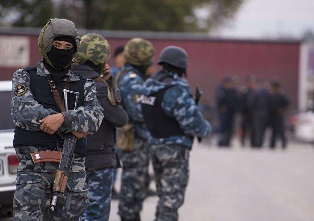 Las fuerzas de seguridad de Kirguistán