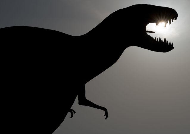 Un dinosaurio (imagen ilustrativa)