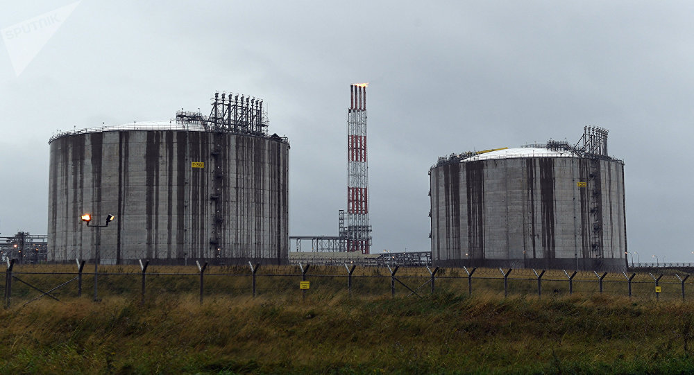 Planta rusa de gas natural licuado