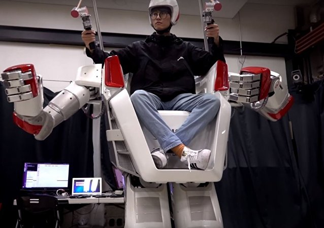 Corea del Sur crea un robot tripulado