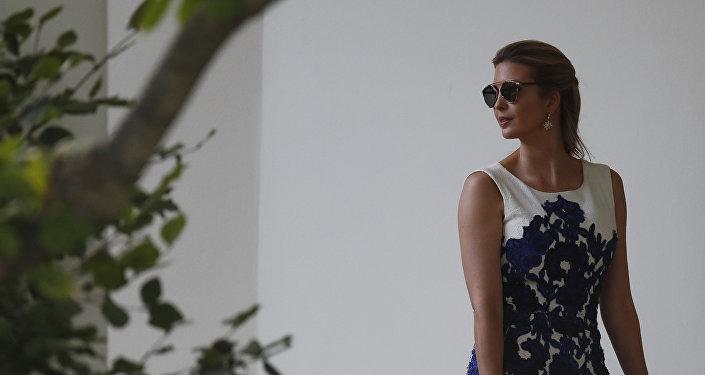 Ivanka Trump, hija del presidente de EEUU