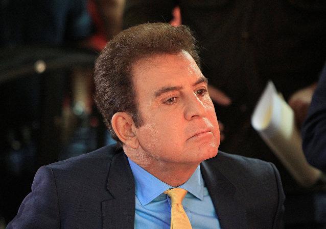 Salvador Nasralla, candidato presidencial del partido Alianza de Oposición de Honduras