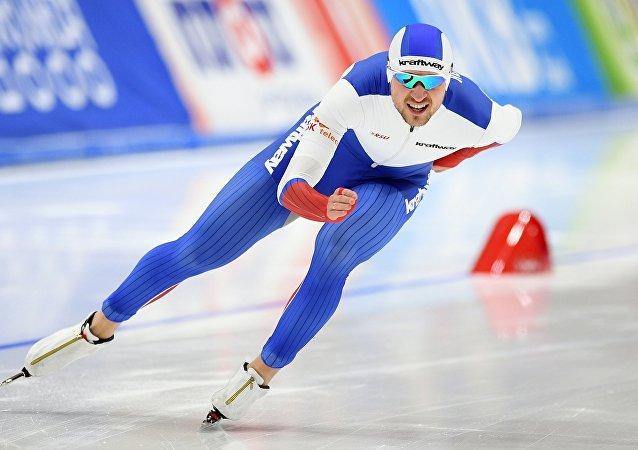 Denís Yuskov, patinador ruso (archivo)