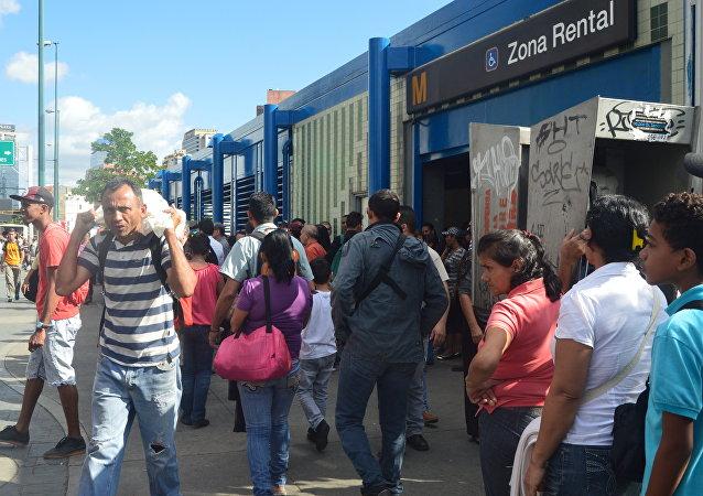 Consecuencias del apagón en Caracas, Venezuela