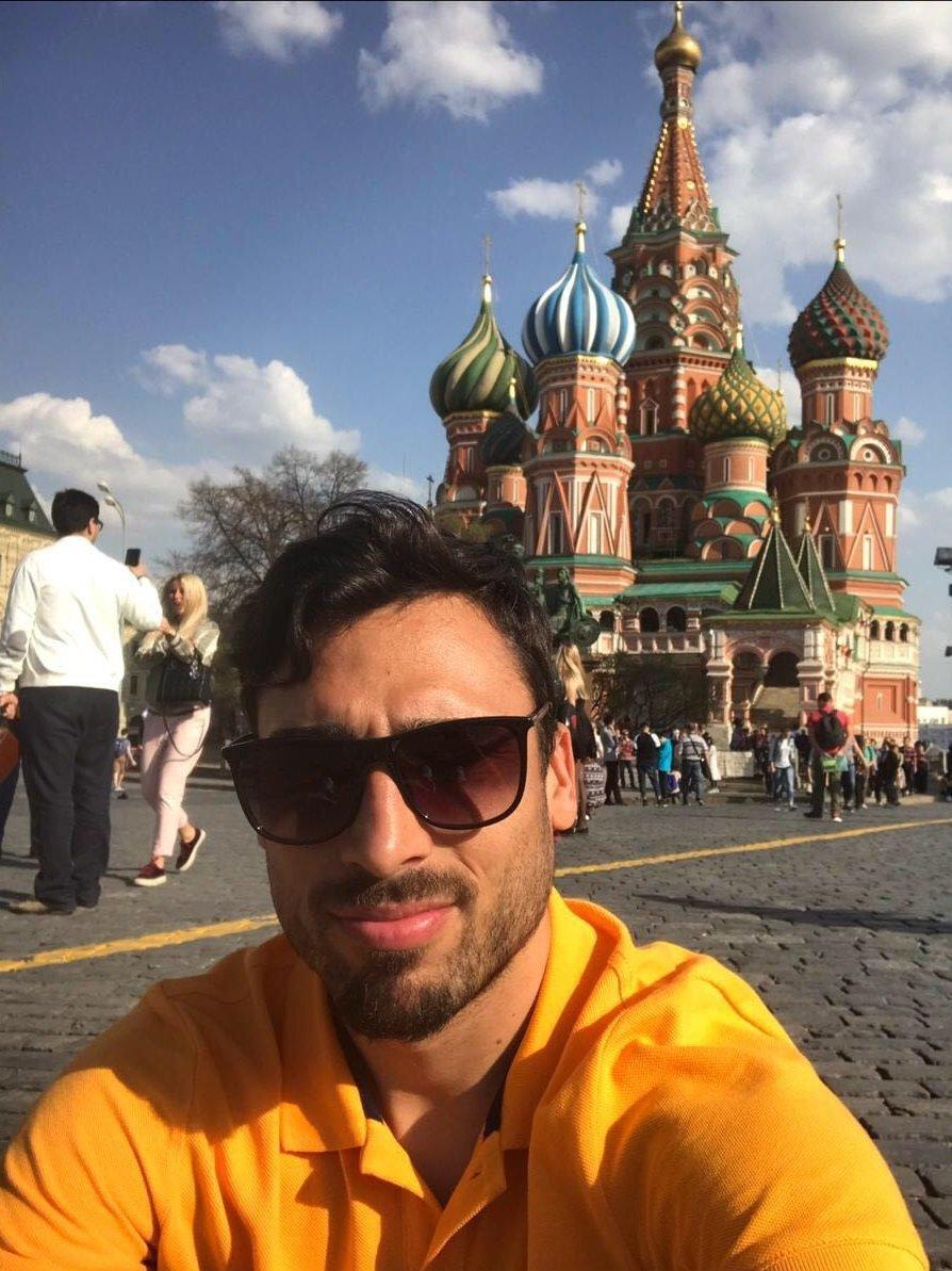Facundo Piriz jugó 4 años para el Terek Grozny de Chechnya