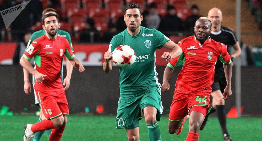 Facundo Píriz, exjugador del equipo ruso FC Terek Grozni