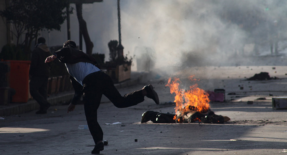 Manifestaciones en el Kurdistán iraquí