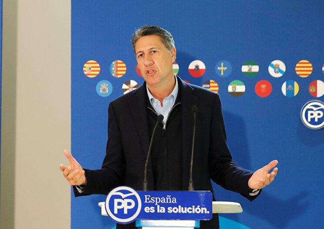 Xavier García Albiol, líder del Partido Popular de Cataluña (PPC)