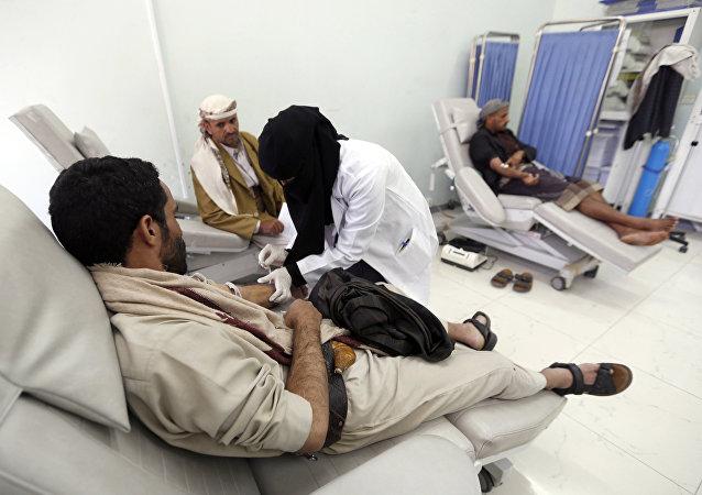 Un hospital en Yemen (imagen referencial)