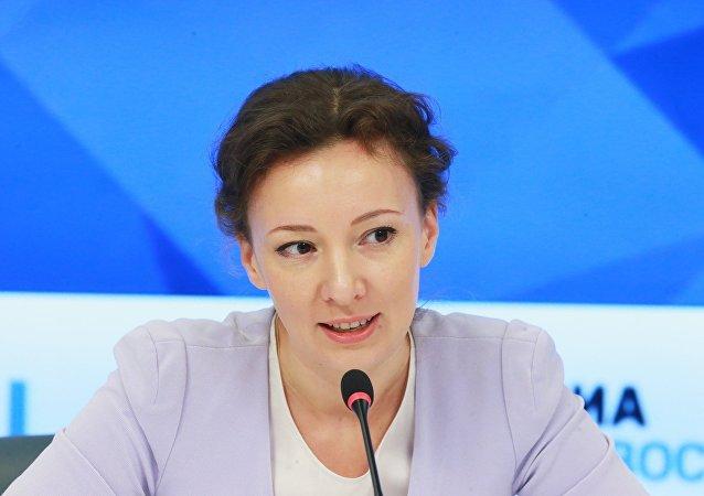 Anna Kuznetsova, la defensora del menor de Rusia