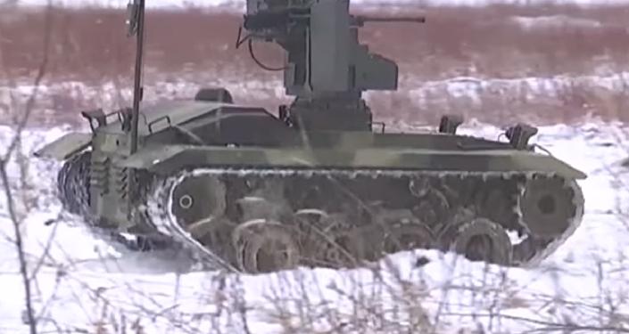 'Soldado universal': el novedoso robot de combate Nerejta, a examen (vídeo)